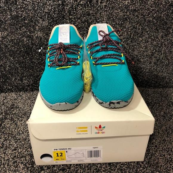 75250f372 Adidas Originals Pharrell Williams Tennis Hu 🔥👟